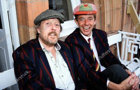 Willie Rushton and Henry Kelly 1990