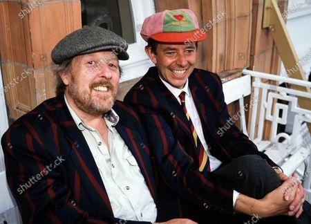 Henry Kelly and Willie Rushton 1990