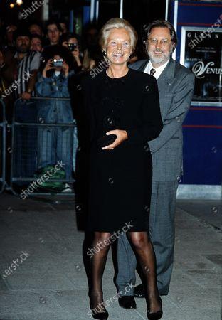Katharine, Duchess of Kent Lord David Puttnam c.1991