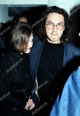 Paul Mowatt and Marina Ogilvy c.1991