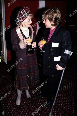 Sandi Toksvig and Molly Weir c.1995