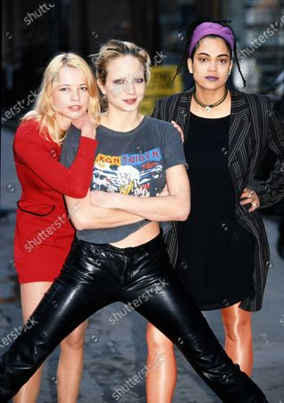 Sarah Cox, Rachel Williams and Clare Gorham- The Girlie Show c.1995