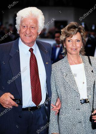 Jon Pertwee and wife Ingeborg 1995