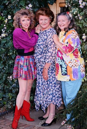 Mary Millar, Patricia Routledge and Judy Cornwell- Keeping Up Appearances photocall c.1995