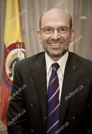 Stock Picture of Colombian Ambassador, Mr. Mauricio Rodríguez Munera, London