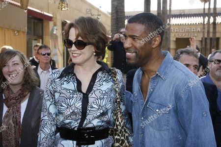 Sigourney Weaver and Ricco Ross