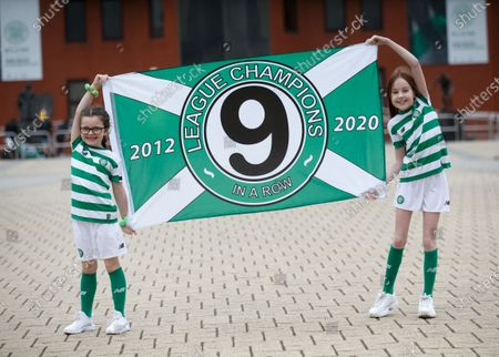 Editorial image of Celtic crowned Scottish champions, Glasgow, United Kingdom - 18 May 2020