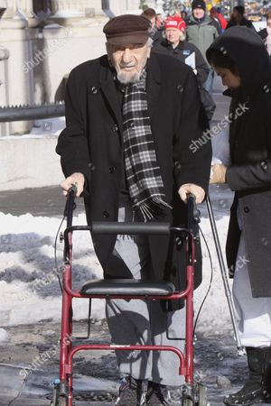 Editorial picture of Mitch Miller Out and About in New York, America - 20 Dec 2009