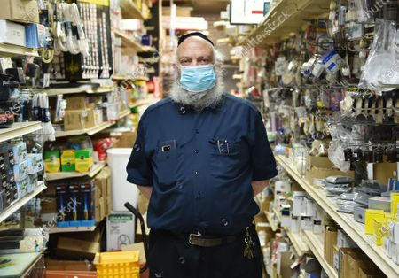 Exclusive - Cortelyou Hardware owner Sam Levine poses for a photo inside his store on Cortelyou Road in Brooklyn, NY.
