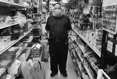 Stock Photo of Exclusive -  Cortelyou Hardware owner Sam Levine poses for a photo inside his store on Cortelyou Road in Brooklyn, NY.
