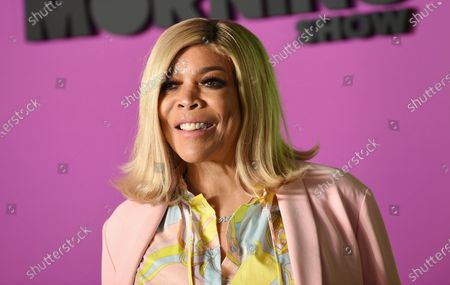 """Wendy Williams attends the world premiere of Apple TV+'s """"The Morning Show"""" in New York. Williams is taking a break from her daytime talk show to receive treatment for a previously announced health condition. A spokesperson for """"The Wendy Williams Show"""" said that Williams has has been suffering fatigue because of symptoms from Graves' disease"""