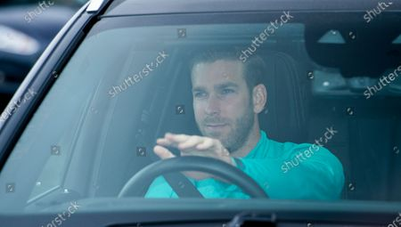 Liverpool's goalkeeper Adrian for a training session to the Melwood training facility in Liverpool, Britain, 19 May 2020. English Premier League clubs resumed training activities in small groups amid the ongoing SARS-CoV-2 coronavirus pandemic which causes the COVID-19 disease.