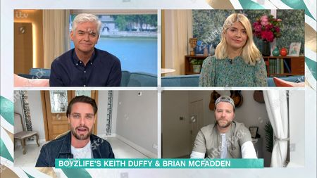 Phillip Schofield, Holly Willoughby, Keith Duffy and Brian McFadden