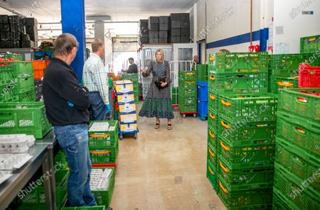 Editorial photo of Queen Maxima visits distribution center of the Food Bank, Delft, Netherlands - 19 May 2020