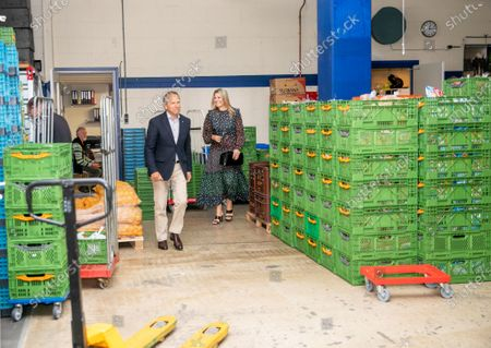 Editorial image of Queen Maxima visits distribution center of the Food Bank, Delft, Netherlands - 19 May 2020