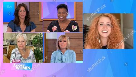 Editorial image of 'Loose Women' TV show, London, UK - 19 May 2020
