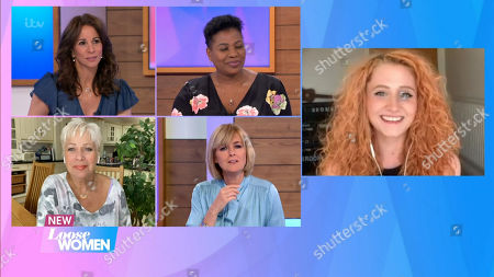 Andrea McLean, Jane Moore, Brenda Edwards, Denise Welch and Janet Devlin