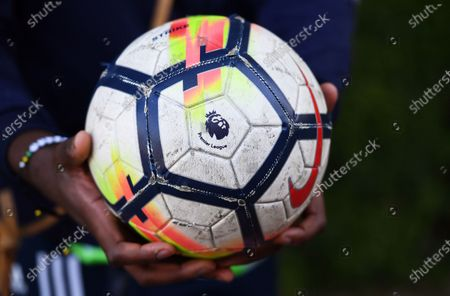 Editorial picture of Arsenal FC training, St Albans, United Kingdom - 19 May 2020