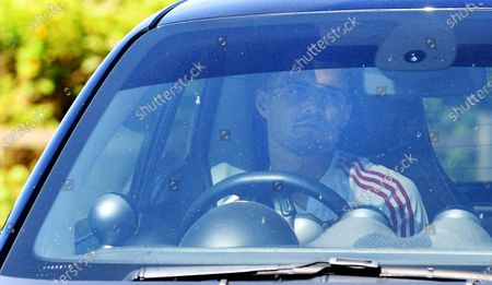 Arsenal's Granit Xhaka arrives at the English Premier League side's training complex at London Colney, near St Albans, Britain, 19 May 2020. English Premier League clubs resumed training activities in small groups as Britain's lockdown eases amid the ongoing SARS-CoV-2 coronavirus pandemic which causes the COVID-19 disease.