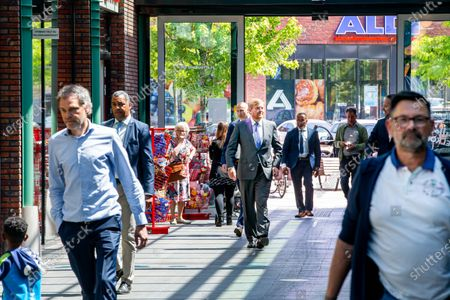 Editorial picture of Visit King Willem Alexander visit to shopping center, Stein, Netherlands - 19 May 2020