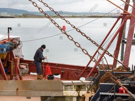 Editorial image of Oyster fishing resume in Stranraer, Scotland, United Kingdom - 19 May 2020