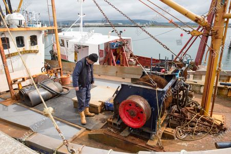 Editorial photo of Oyster fishing resume in Stranraer, Scotland, United Kingdom - 19 May 2020