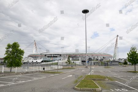 Stock Picture of View from outside the Allianz Stadium where Juventus FC play