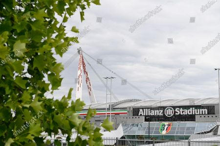 Editorial image of Juventus FC training session after quarantine, Continassa, Turin, Italy - 19 May 2020
