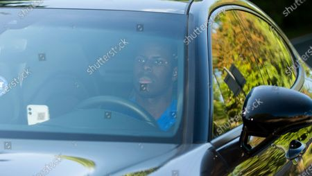 Stock Image of Chelsea's Antonio Ruediger arrives at the English Premier League side's training ground in Cobham, south-east of London, Britain, 19 May 2020. English Premier League clubs resumed training activities in small groups as Britain's lockdown eases amid the ongoing SARS-CoV-2 coronavirus pandemic which causes the COVID-19 disease.