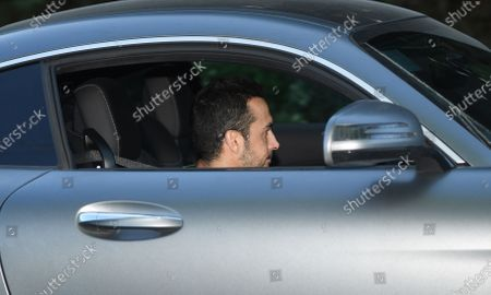 Chelsea's Pedro leaves training in London, Britain, 19 May 2020. English Premier League clubs resumed training activities in small groups as Britain's lockdown eases amid the ongoing SARS-CoV-2 coronavirus pandemic which causes the COVID-19 disease.
