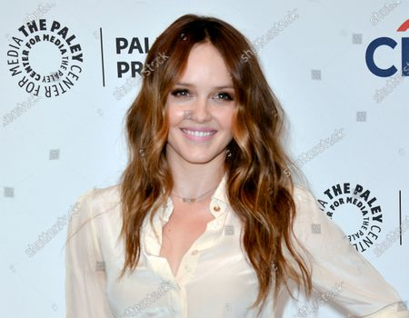 "Actress Rebecca Breeds at the PaleyFest Previews: Fall TV show ""We Are Men"" in Beverly Hills, Calif. Breeds will star in the title role ""Clarice"" a TV spin-off of ""The Silence of the Lambs"" film. It will premiere mid-season on CBS"