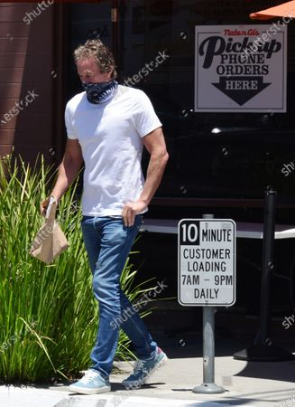 Exclusive - Rande Gerber out and about in Beverly Hills