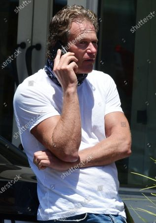Editorial picture of Exclusive - Rande Gerber out and about, Beverly Hills, USA - 19 May 2020