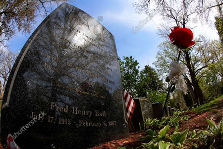 Editorial picture of New York Daily Life Lucille Ball Grave, Jamestown, United States - 19 May 2020