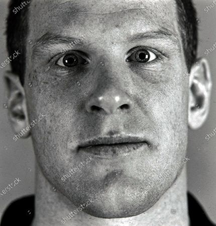 Ireland Rugby Portraits 2002. Paul O'Connell