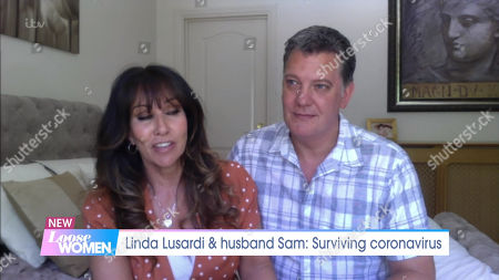 Linda Lusardi and husband