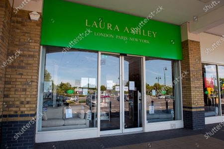 Stock Photo of The Laura Ashley home and clothes store chain have gone into administration reportedly being the first retail casualty of the Coronavirus lockdown in the UK