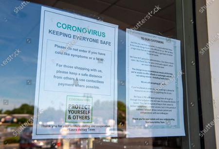 Editorial photo of Coronavirus lockdown, Staines, Surrey, UK - 20 May 2020