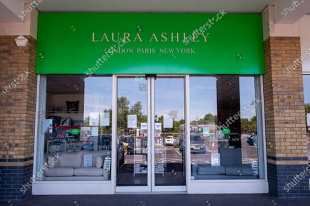 Stock Picture of The Laura Ashley home and clothes store chain have gone into administration reportedly being the first retail casualty of the Coronavirus lockdown in the UK