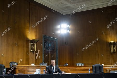 Senator Dan Sullivan, a Republican from Alaska, speaks during a Senate Environment and Public Works Committee hearing with Andrew Wheeler, administrator of the Environmental Protection Agency (EPA), not pictured, on Capitol Hill in Washington, DC, USA, 20 May 2020.