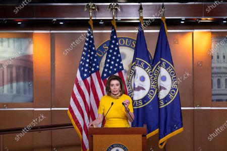 Editorial image of Speaker Pelosi Holds a Press Conference, Washington, District of Columbia, USA - 20 May 2020