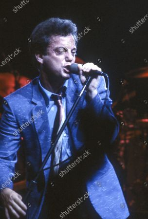 Editorial picture of Billy Joel performing at Earl's Court, London, UK - 11 May 1994