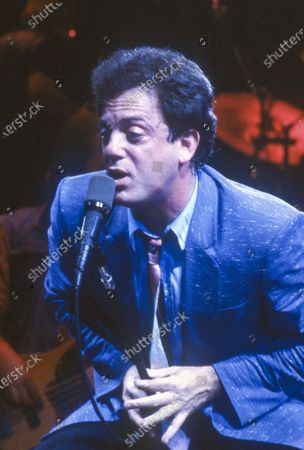Editorial image of Billy Joel performing at Earl's Court, London, UK - 11 May 1994
