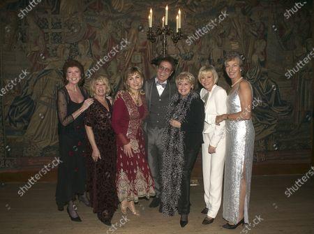 Stock Photo of Cilla Black, Elaine Page, Lesley Garrett, Cliff Richard, Gloria Hunniford, Sue Parker and Virginia Wade