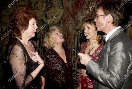 Stock Picture of Cilla Black, Elaine Page, Lesley Garrett, Cliff Richard