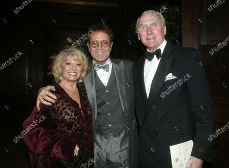 Cliff Richard with Elaine Page and her friend