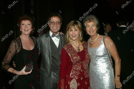 Cilla Black, Cliff Richard, Lesley Garrett, and Virginia Wade