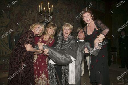 Editorial image of Cliff Richard's Tennis Foundation Dinner, London, UK - 12 Dec 2003