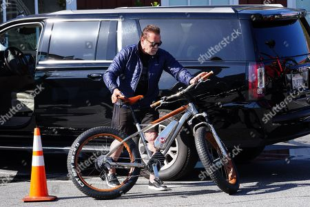Editorial image of Arnold Schwarzenegger out and about, Los Angeles, USA - 20 May 2020