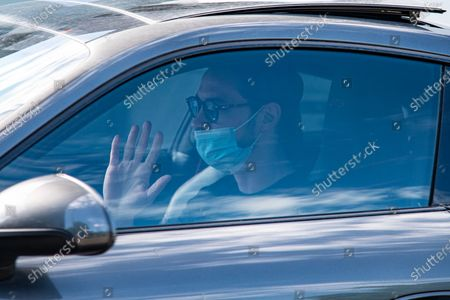 Mattia De Sciglio arrives at Juventus FC individual training session during the Covid-19. In Allianz Stadium,  on Turin, Italy on 20 may 2020